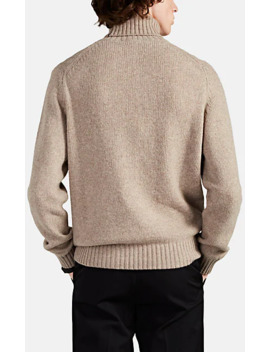 wool-cashmere-turtleneck-sweater by fioroni