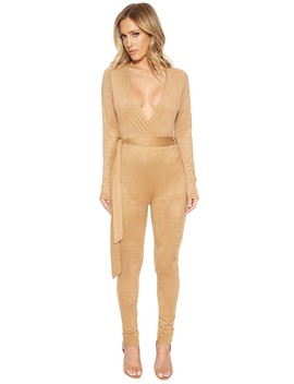 wrapped-this-suede-jumpsuit by naked-wardrobe