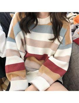 blaklukka---striped-sweater by blaklukka
