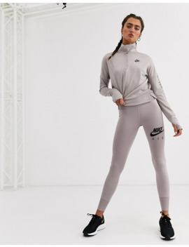 nike-air-running-crop-leggings-in-grey by nike