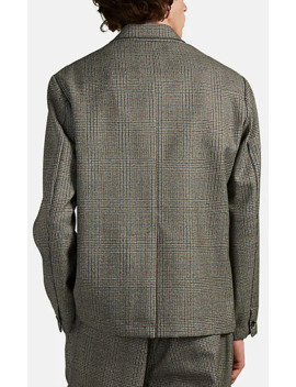 Unstructured Plaid Wool Two Button Sportcoat by Barena Venezia