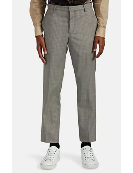 kensington-checked-wool-two-button-suit by paul-smith