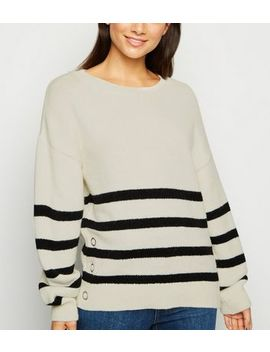 petite-white-stripe-jumper by new-look