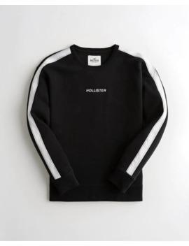 box-logo-crewneck-sweatshirt by hollister