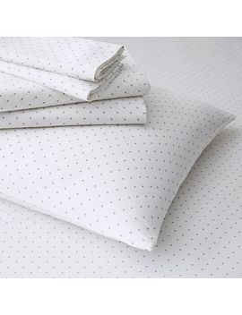 Polka Dot Pillowcases   Feather Gray by West Elm
