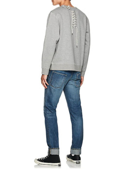Lace Up Jersey Sweatshirt by Craig Green