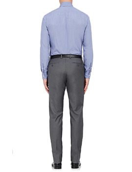 Slim Fit Cotton Dress Shirt by Isaia