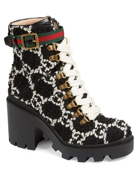 trip-logo-bootie by gucci