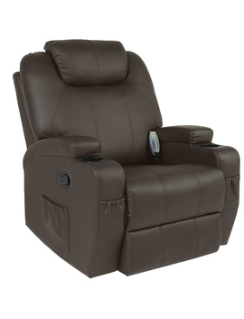 best-choice-products-faux-leather-executive-swivel-electric-massage-recliner-chair-w_-remote-control,-5-heat-&-vibration-modes,-2-cup-holders,-4-pockets,-brown by best-choice-products
