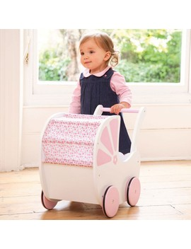 fleur-push-along-toy-pram by jojo-maman-bebe
