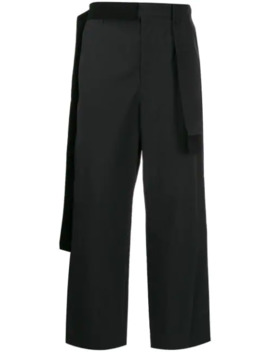 draped-panel-straight-trousers by craig-green