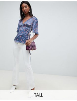 fashion-union-tall-wrap-top-in-romantic-floral by fashion-unions