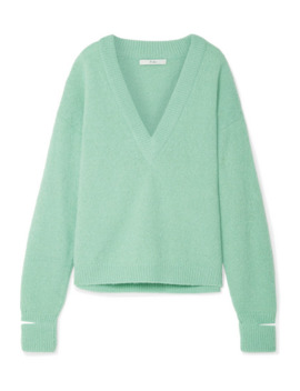 oversized-cutout-alpaca-blend-sweater by tibi