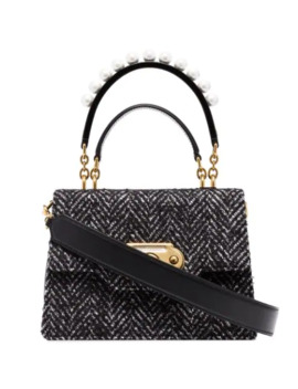 welcome-tweed-bag by dolce-&-gabbana