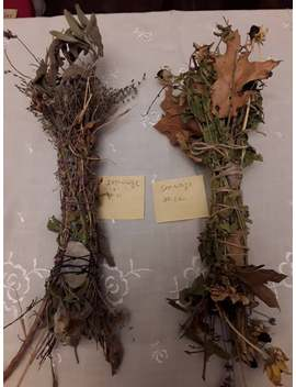 pick-your-specialty-smudge-sticks-#-11-quartz-sage-gaillardia-lavender-rosemary-+_-#12--smokey-oak-leaves-sage-holly-blk-eye-susan-lavender by etsy