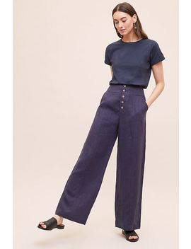 ellor-wide-leg-linen-trousers by seen-worn-kept