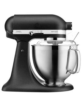 kitchenaid-5ksm185psb-48l-artisan-stand-mixer,-black-iron by kitchenaid