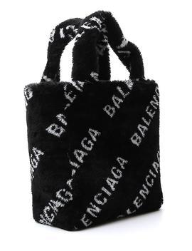 Balenciaga Diagonal Logo Tote Bag by Balenciaga Balenciaga