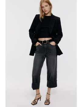 jeans-z1975-met-omgeslagen-pijpen by zara