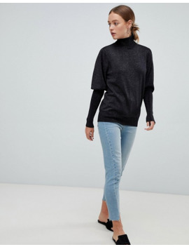 moves-by-minimum-leg-of-mutton-sleeve-sweater by asos