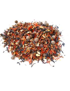 pumpkin-spice-artisan-tea-blend---rich-black-tea,-vanilla-rooibos,-warm-spices---a-fall-favorite---each-ounce-yields-15-20-cups by etsy