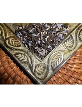 organic-victorian-grey-artisan-tea-blend---lovely-floral-note---earl-grey,-bergamot-orange,-lavender---one-ounce-loose-tea-yields-12-15-cups by etsy