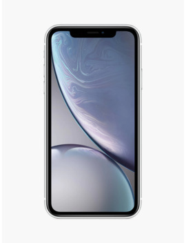 "apple-iphone-xr,-ios,-61"",-4g-lte,-sim-free,-64gb,-white by apple"