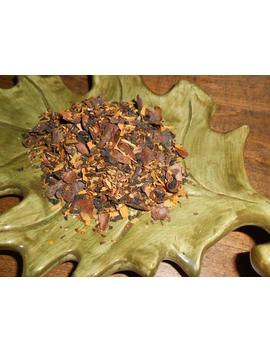 falling-leaves-artisan-tea-blend,-organic---rich,-smoky,-spicy---black-tea,-cacao-shells---autumn,-fall---one-ounce---yields-12-15-cups by etsy