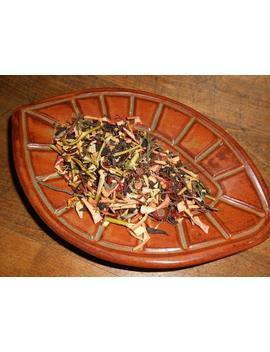 harvest-artisan-tea-blend,-organic---fruity,-delicious---black-tea,-green-tea,-dried-fruit---autumn,-fall---one-ounce---yields-12-15-cups by etsy