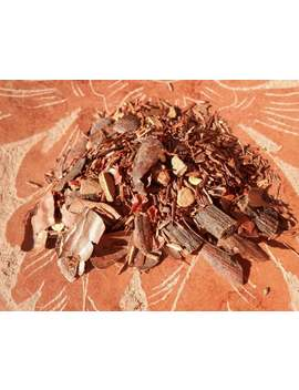 chocolate-voodoo-chile-loose-tea---organic,-sultry,-spicy,-warming,-invigorating,-smooth,-and-caffeine-free---one-ounce---yields-15-20-cups by etsy