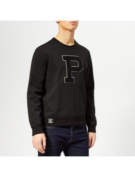 Polo Ralph Lauren Men's Double Knit P Sweatshirt   Polo Black by Polo Ralph Lauren
