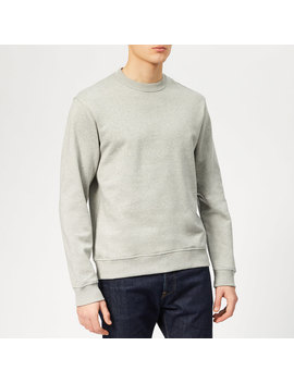 Kenzo Men's Back Logo Sweatshirt   Pearl Grey by Kenzo