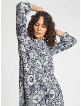 Lisbet Floral Print Hemp Dress by Thought
