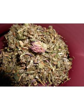 organic-lady-moon-herbal-tea---artisan-specialtea-blend---no-caffeine---each-ounce-yields-15-30-cups by etsy