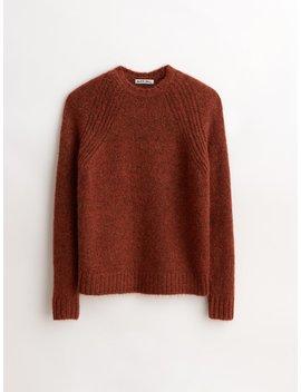 Fuzzy Raglan Crew Sweater by Alex Mill