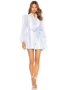guardian-mini-dress-in-sky-blue-stripe by keepsake