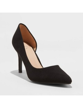 womens-seana-microsuede-dorsay-stiletto-heeled-pumps---a-new-day by a-new-day