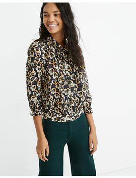 tie-neck-top-in-viola-floral by madewell