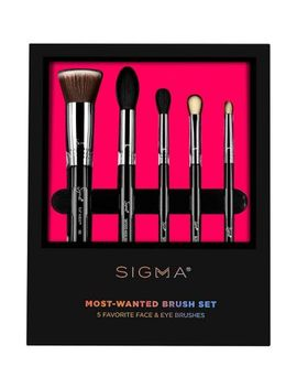sigma-beauty---most-wanted-brush-set by sigma_beauty