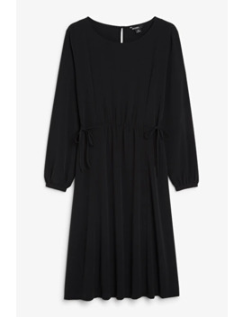Tie Detail Dress by Monki