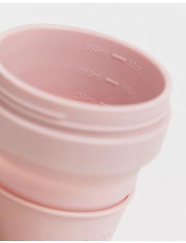 stojo---gobelet-de-poche-12-oz---vieux-rose by asos-brand