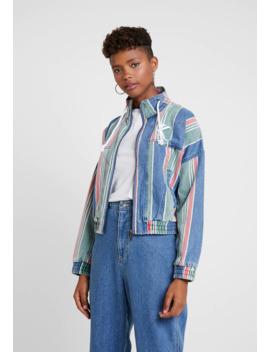stripe-jacket---jeansjacke by karl-kani