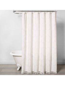 textured-shower-curtain-off-white---opalhouse by opalhouse