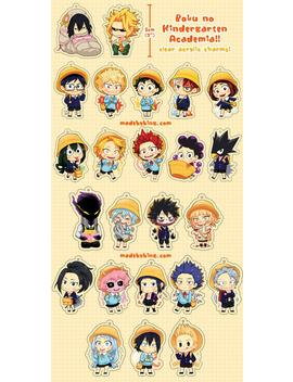 bnha---kindergarten-acrylic-charms by etsy