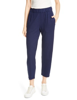 hemp-&-organic-cotton-tapered-ankle-pants by eileen-fisher