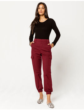 Sky And Sparrow Cargo Womens Jogger Pants by Sky And Sparrow