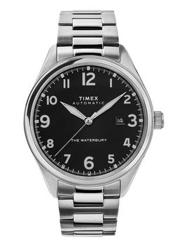Waterbury Traditional Automatic 42mm Stainless Steel Bracelet Watch by Timex