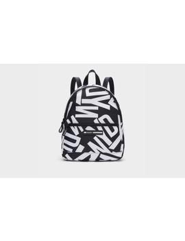 Nora Logo Backpack by Donna Karan
