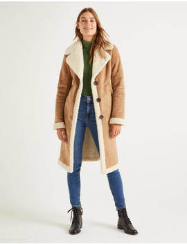 Bell Coat   Natural by Boden