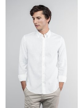 The Linen Shirt   White by Asket